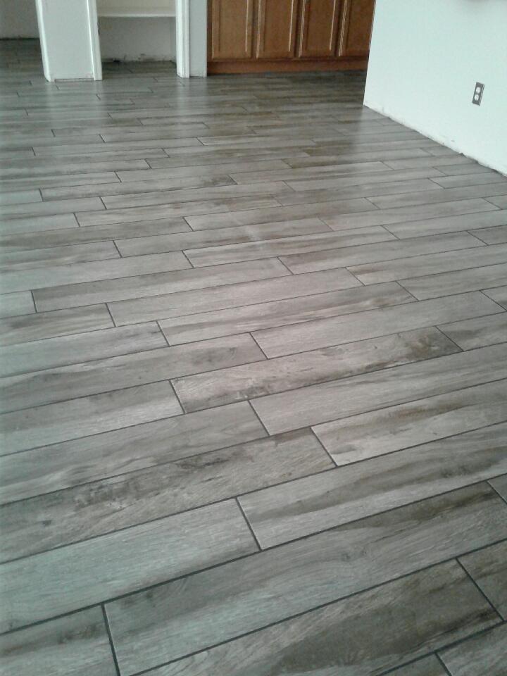 wood plank tile surprise